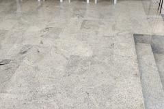 Aplicação de piso de Granito Natural